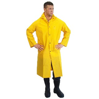 "48"" PVC/Polyester Raincoat: DRJ Safety, Inc."